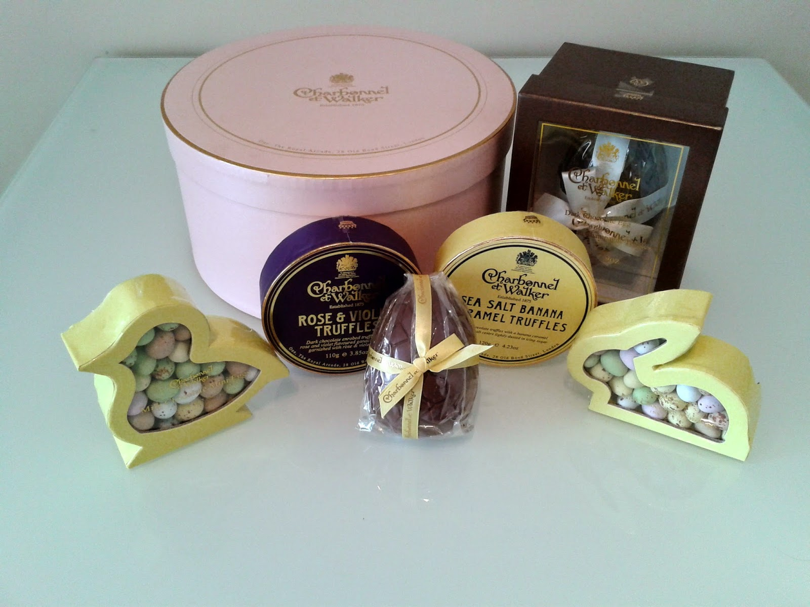 Easter Eggs, Charbonnel et Walker, Handmade Chocolates, Chocolatier, Champagne Truffles