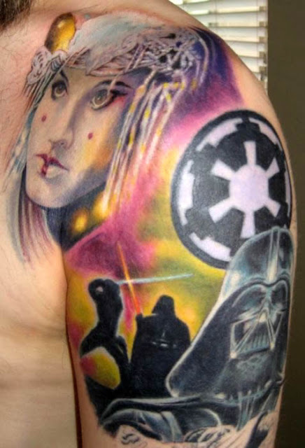foto 3 de tattoos de la guerras de las galaxias - star wars tattoos