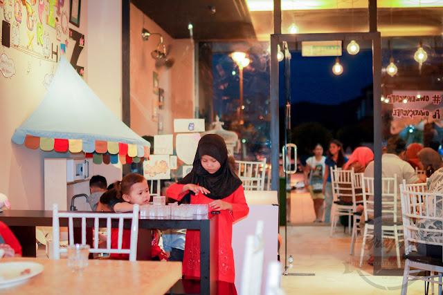 Kids Zone di Owlery Cafe Dagang Avenue yang Unik