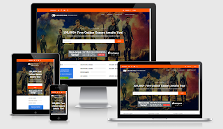 Arcade Mag Responsive Blogger Template
