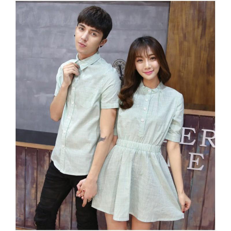 Jual Dress Couple Dress Shanghai Hijau - 24316