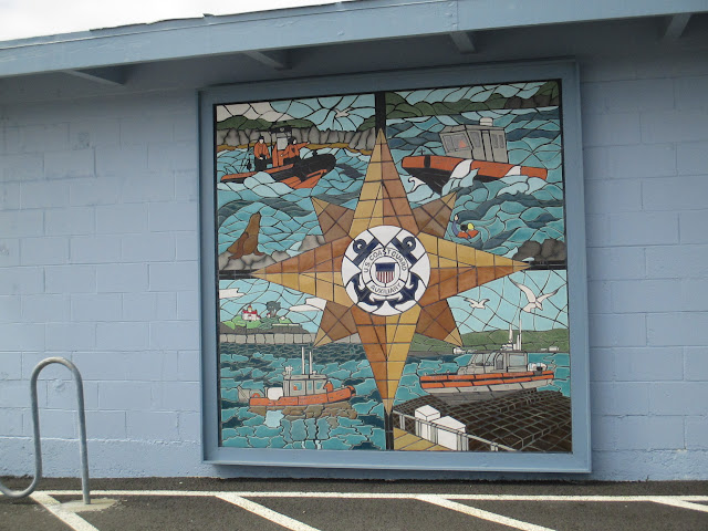 Coast Guard Tile Mosaic Crescent City