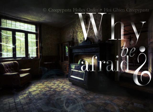 Creepy: Tại sao sợ hãi