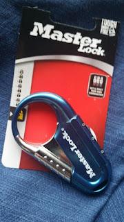 Master Lock 1547DCM Backpack Lock