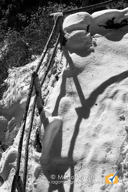 Sentiero Goglio Devero con neve