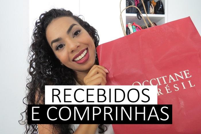 COMPRINHAS E RECEBIDOS - ROUPA, SAPATO E COMIDINHAS!