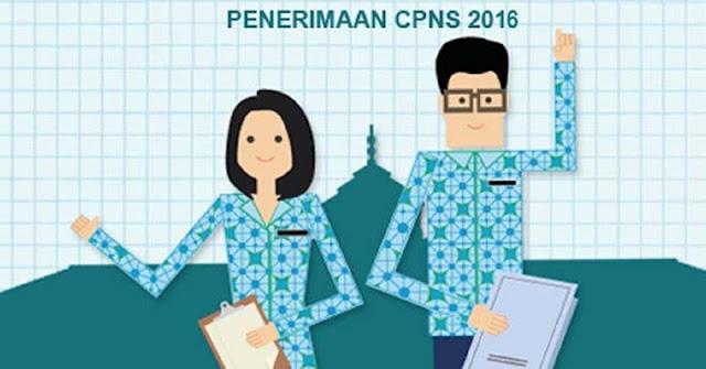 Ilustrasi pendaftaran CPNS