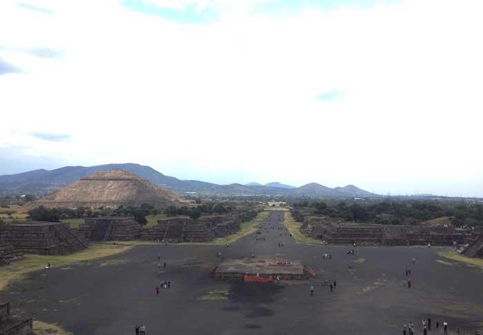 Pirámides-Teotihuacán