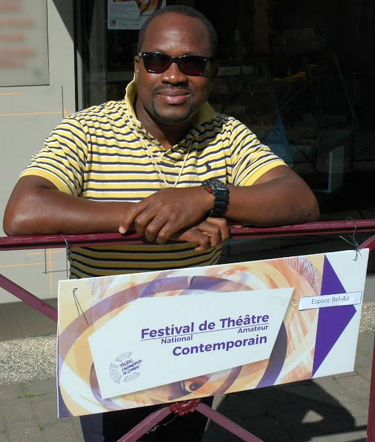 Diarra, régisseur de la Cordée, apprécie la communication du festival