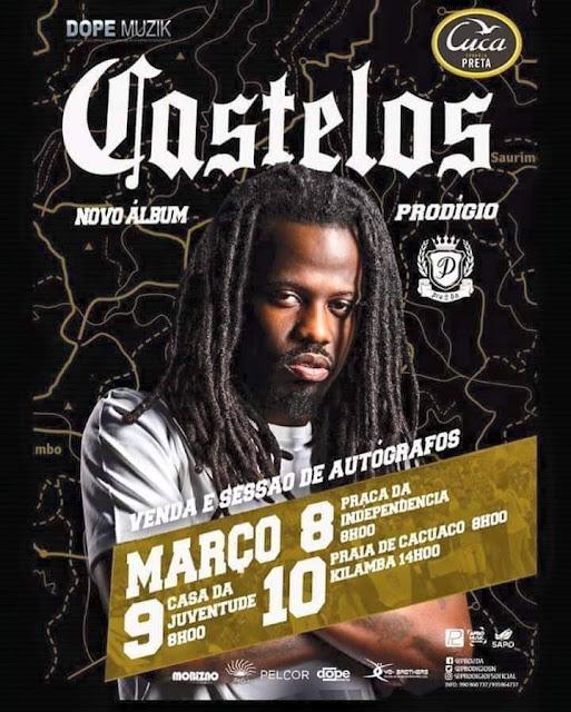 Prodigio -  Álbum Castelos chega aos ouvintes da boa musica em Março