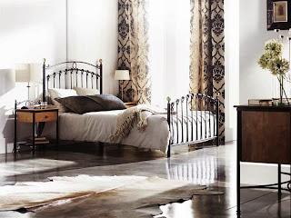 Dormitorio forja, cama de forja, cama grandes forja