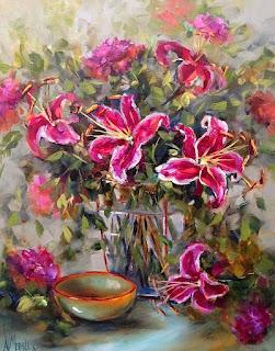 cuadros-diseños-flores-pintura