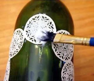 Cara Membuat Kerajinan Tangan Dari Botol Bekas, Vas Bunga 2