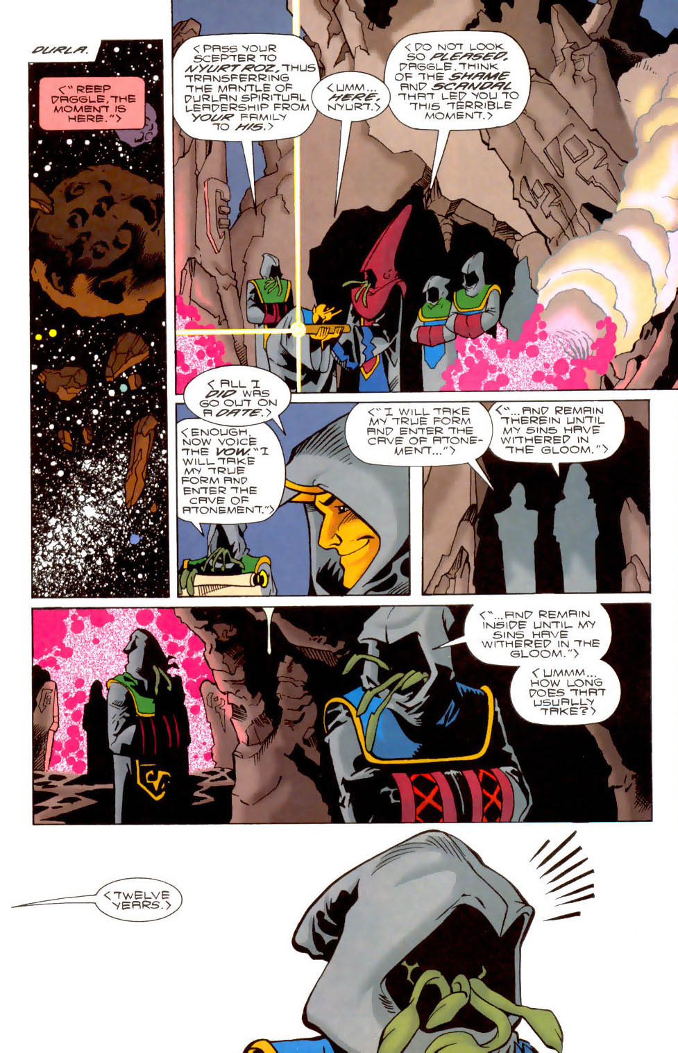Legion of Super-Heroes (1989) 104 Page 13