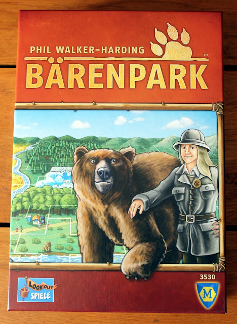 Barenpark board game - Phil Walker-Harding - box art