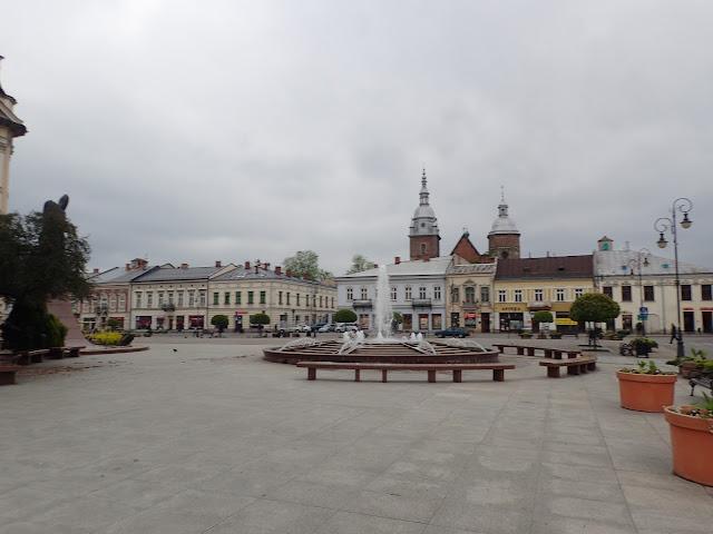 Nowy Sącz - centrum