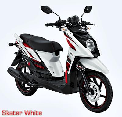 Yamaha X-Ride Terbaru 2015 Putih Skater White