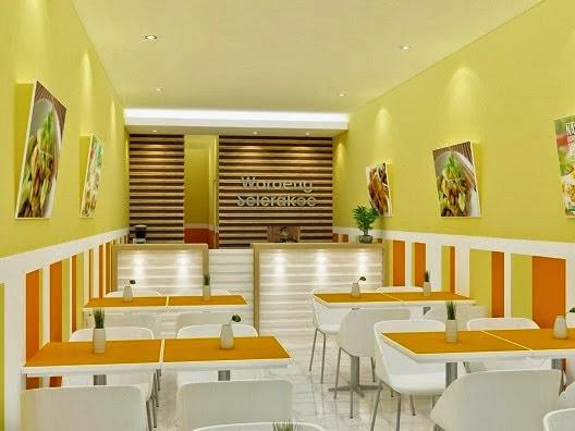 Modern Minimalist Interior Design For A Cafe