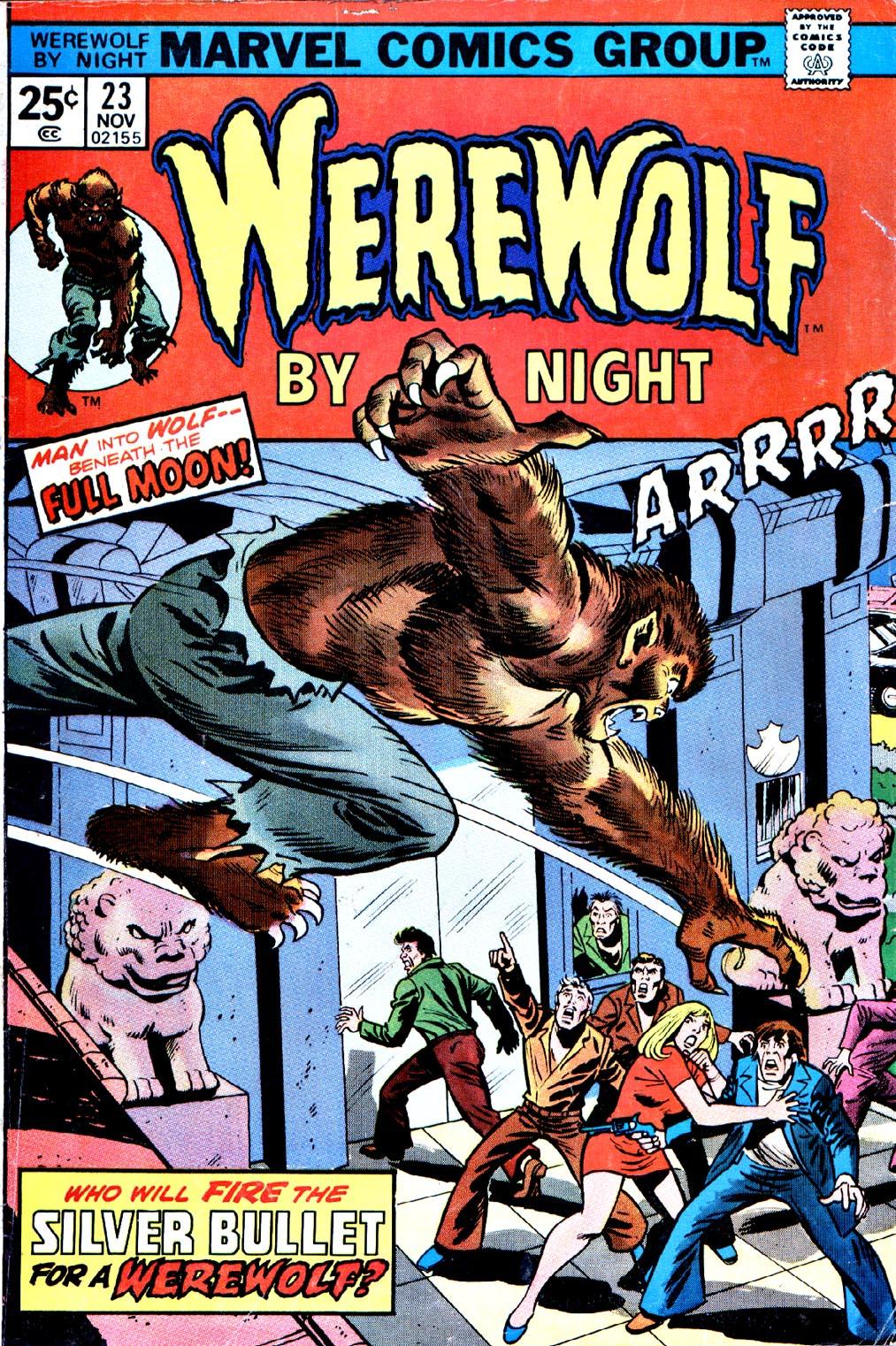 Werewolf by Night (1972) issue 23 - Page 1