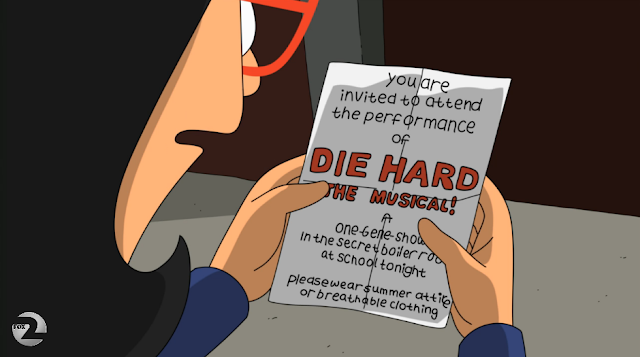 Good thing it ain't A Good Day to Die Hard: The Musical.