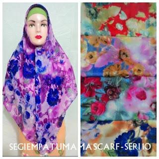jilbab segi empat umama scarf seri 10