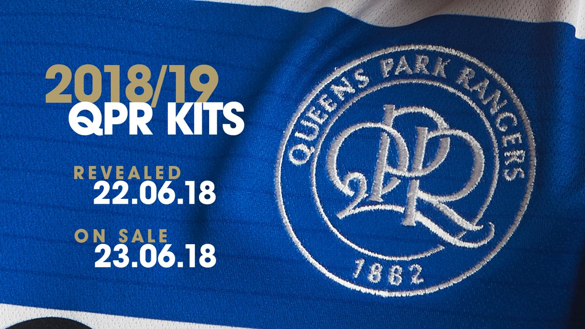 15e3d9db The new Errea QPR 18-19 home kit will hit stores on June 23 2018.