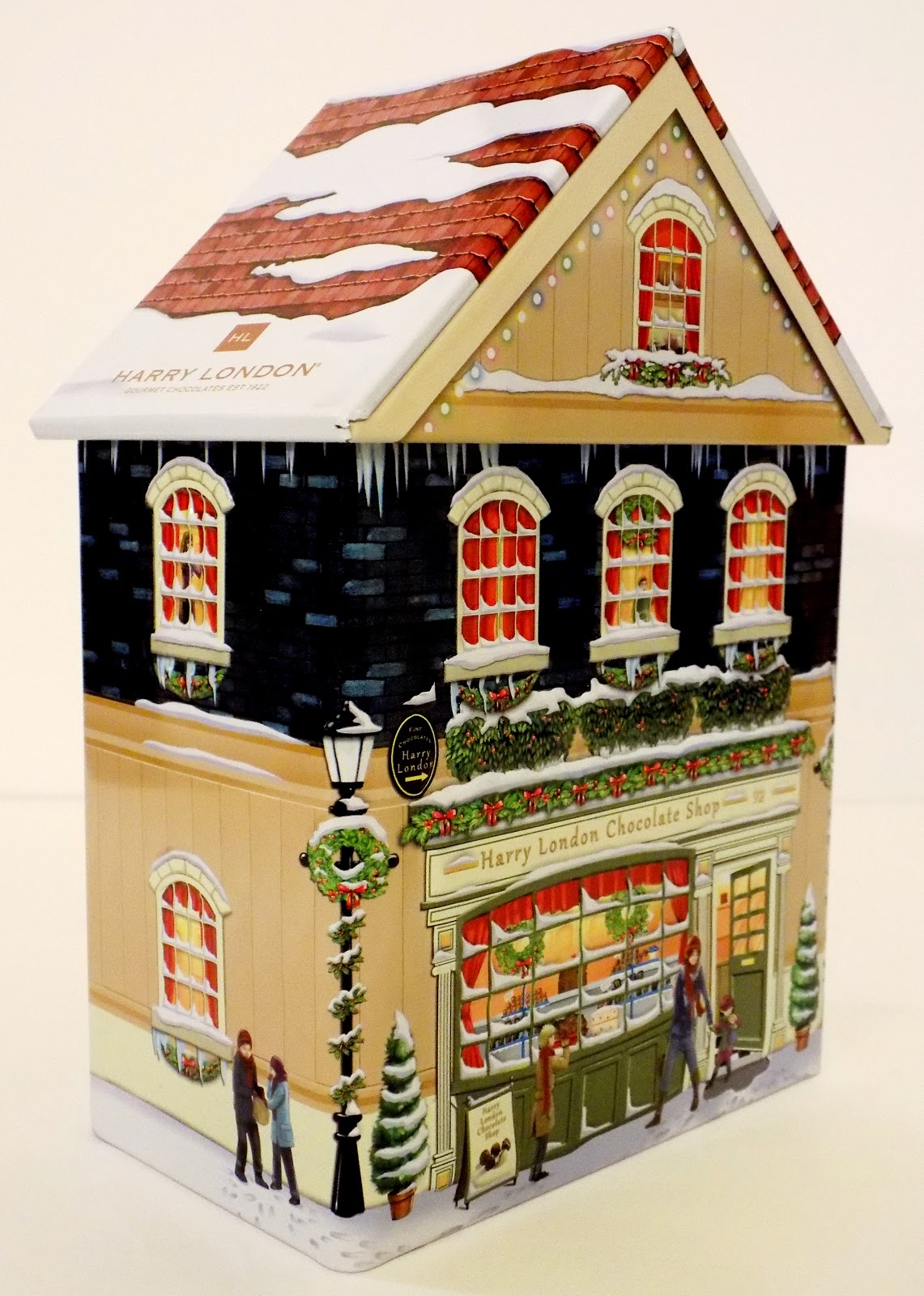 Toys and Stuff: 2016 Harry London Christmas Candy Tin - Harry ...