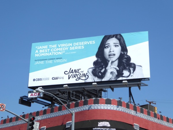 Jane the Virgin 2017 Emmy billboard