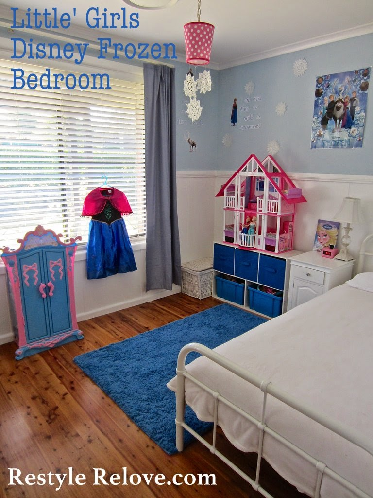 Little Girls Frozen Bedroom