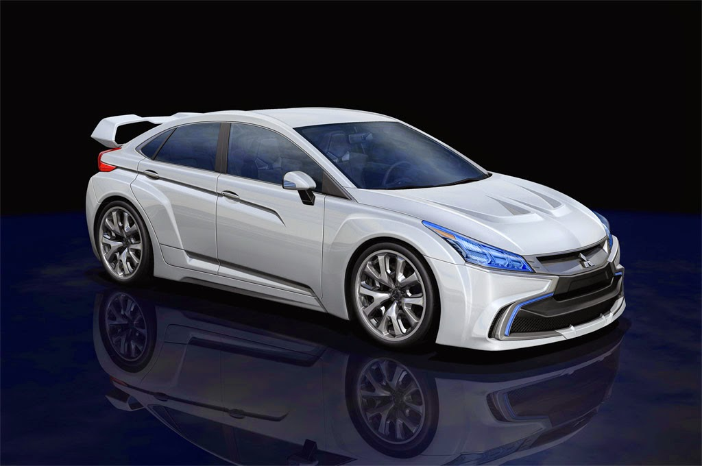 For This New Mitsubishi Design Is Diffe From The Old Generation Because Of Lancer Evo Xi To Form A Sports Hatchback