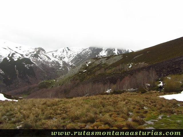 Vista hacia valle de Riomolín