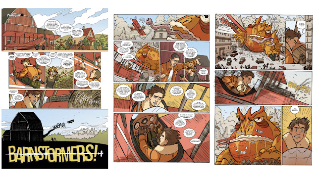 Barnstormers Graphic Novel Pages