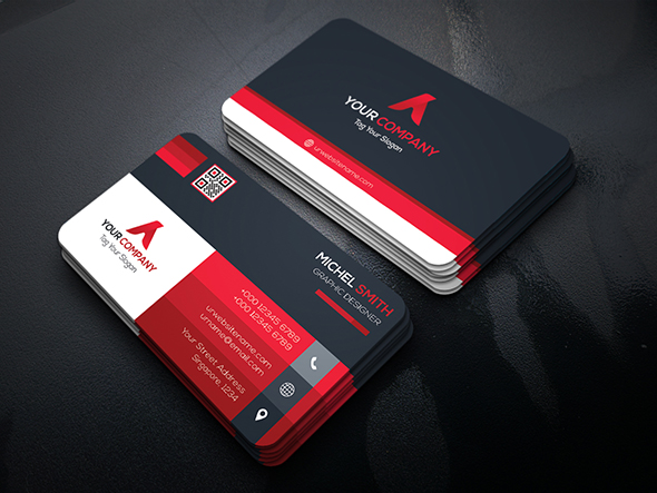 Free Download Graphicriver Corporate Business Card | Business Card Samples