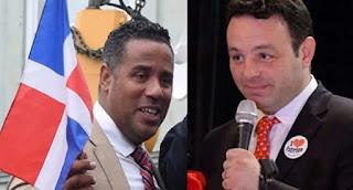 NUEVA JERSEY.– Dominicanos residentes en la ciudad de Paterson condenaron la persecución que ha desatado el alcalde Andre Sayeg contra el ex concejal y ex candidato a la alcaldía en las elecciones pasadas, Alex Méndez.