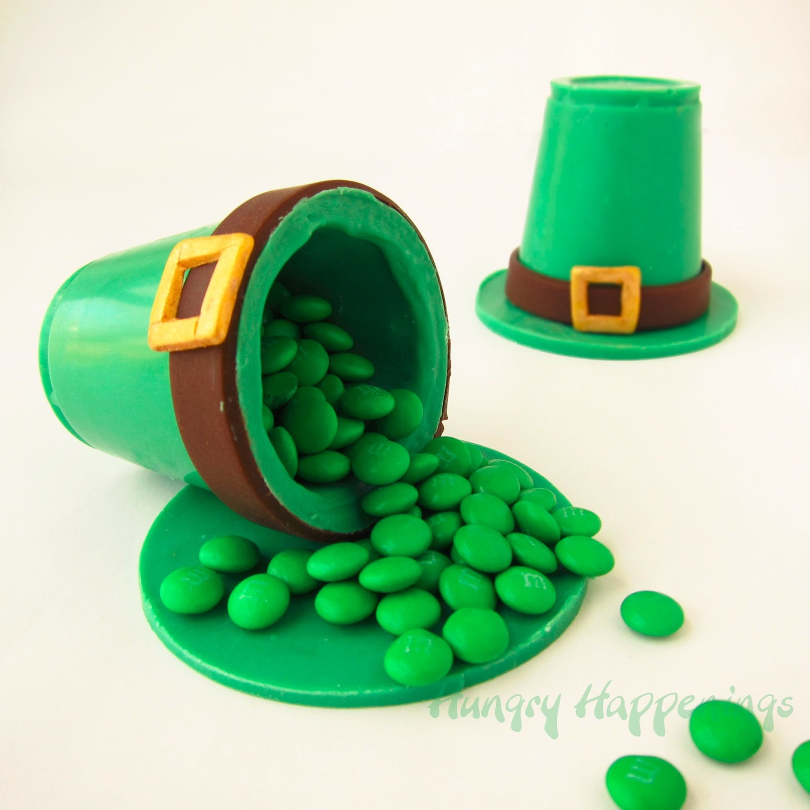 Candy Leprechaun Hats Filled With Sweet Surprises