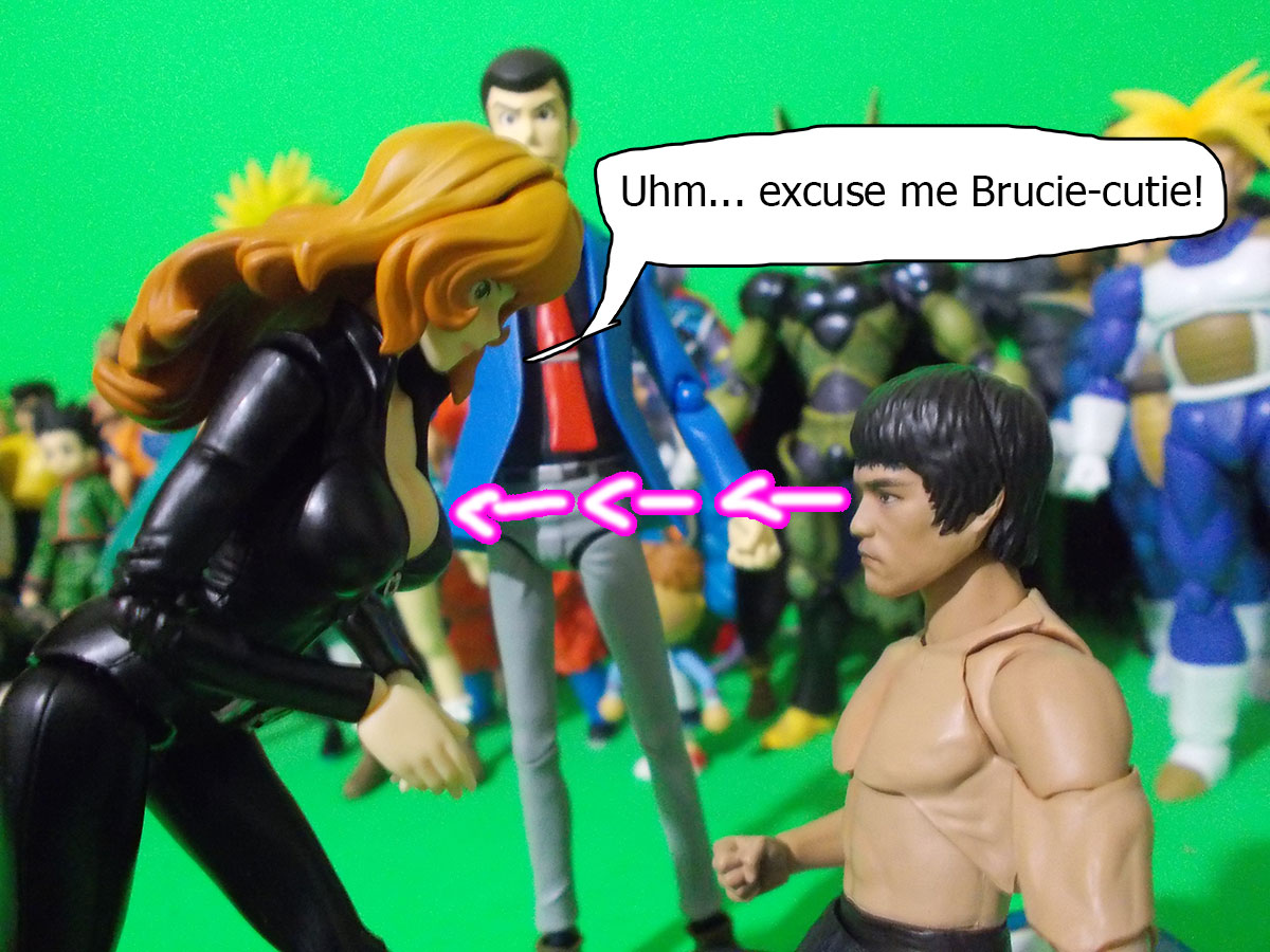 figuarts - Fujiko and the Diamond Bear 36-brucie