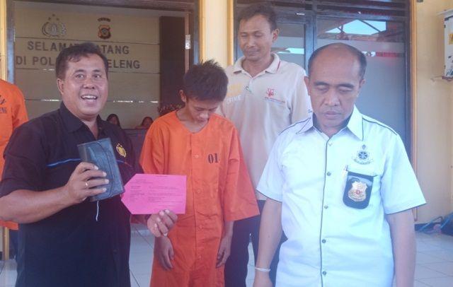 Sudah Lima Kali Masuk Penjara, Juber Kini Curi Taji dan Emas