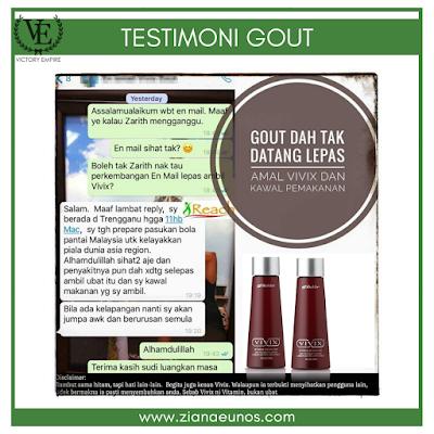 testimoni set gout shaklee