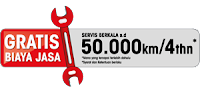 program gratis jasa service mitsubishi