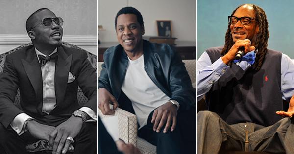Nas, Jay-Z, and Snoop Dogg
