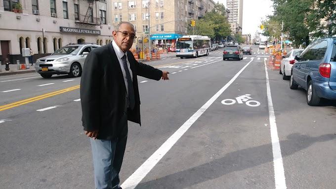 Empresarios dominicanos en el Alto Manhattan califican caótica situación por líneas de bicicletas