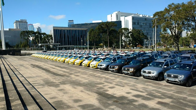 PROJETO BANDIDO FELIZ - Governo do Paraná entrega primeiras 'viaturas policiais com celas humanizadas para criminosos'