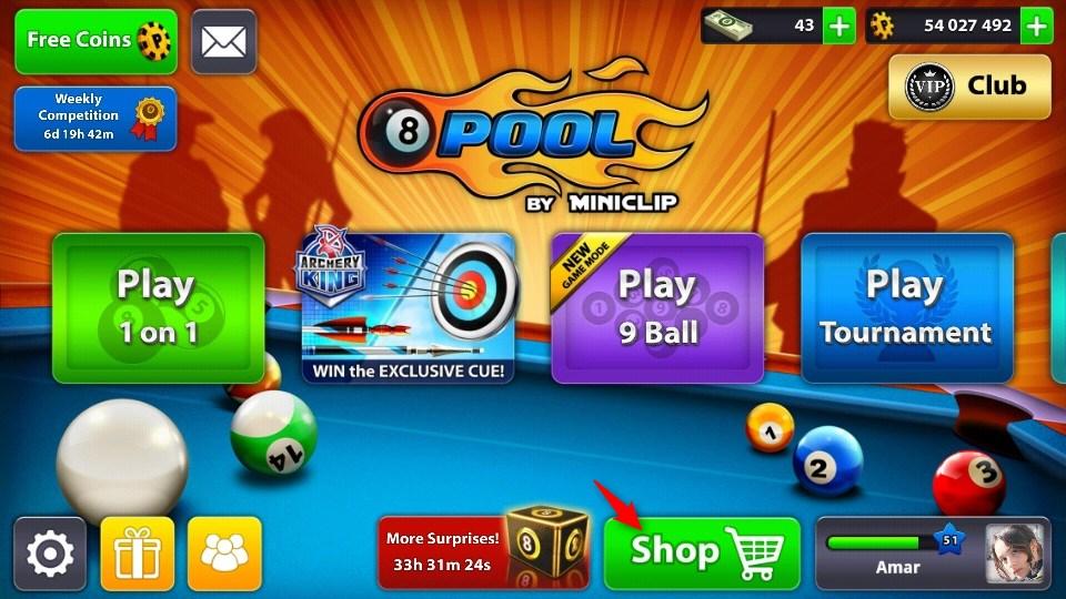 √ Begini Cara Mendapatkan Cue Legendary 8 Ball Pool Gratis -