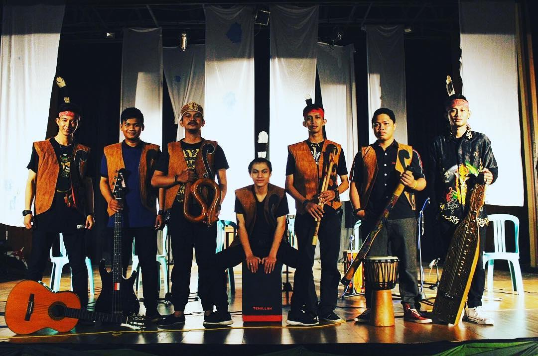 Mutan Borneo, Tradisional Band