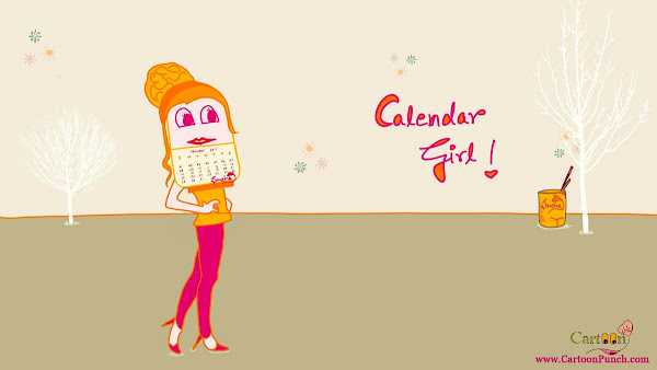 Calendar Girl!