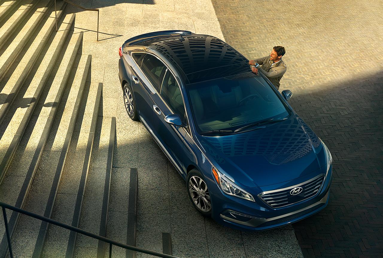 Hyundai Sonata 2016 có quá nhiều điểm giống với Camry