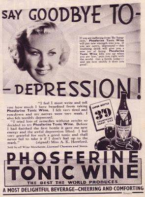 Phosferine tonic wine