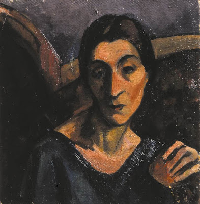 Vilma with an Apple (1928), Margit Graber