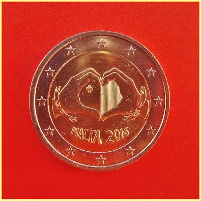 2 Euros Malta 2016 Amor