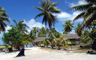 tropical beach widescreen hd wallpaper